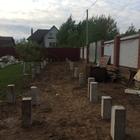 Фундамент на забивных ж/б сваях для каркасного дома в Ижевске от компании Стройматик