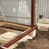 Фундамент на забивных ж/б сваях с обвязкой швеллером в селе Веденка Липецкой области от компании Стройматик