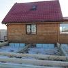 Фундамент на забивных ж/б сваях для веранды в деревне Коргиш Ярославской области от компании Стройматик