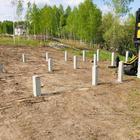 Фундамент в коттеджном посёлке Скандинавия