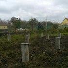 Фундамент для бани на ж/б сваях в селе Губарево от компании Стройматик