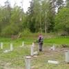 Фундамент на забивных ж/б сваях для каркасной беседки в поселке Глубокое Ленинградской области от компании Стройматик