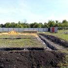 Фундамент на забивных ж/б сваях с бетонным ростверком для административного здания в селе Косыревка Липецкой области от компании Стройматик