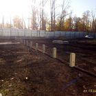 Фундамент на забивных ж/б сваях с бетонным ростверком для кирпичного производственно-административного здания в р-не Центролита, Липецк от компании Стройматик