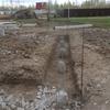 Фундамент на забивных ж/б сваях для дома из газобетона в городе Ярославль от компании Стройматик