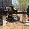 Фундамент на забивных ж/б сваях для дома из бруса в селе Непряхино Челябинской области от компании Стройматик