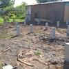 Фундамент на забивных ж/б сваях для каркасного дома в Челябинске на ул. Линейная от компании Стройматик