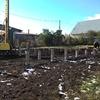 Фундамент на забивных ж/б сваях для дома из газобетона в деревне Исаково, Челябинск от компании Стройматик