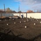 Фундамент на забивных ж/б сваях для кирпичного дома с бассейном в Красногорске, Челябинская область от компании Стройматик